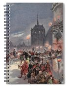 Reception Of Charles V In Amboise Spiral Notebook