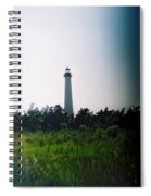 Recesky - Cape May Point Lighthouse 1 Spiral Notebook