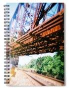 Recesky - Whitford Railroad Bridge Spiral Notebook