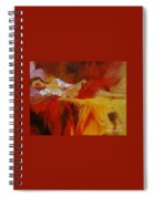 Reclining Beauty 11 Spiral Notebook