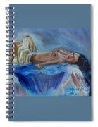 Reclining Beauty 111 Spiral Notebook