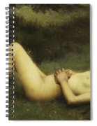 Reclining Nude Spiral Notebook