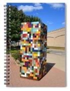 Reconstructing Fences Spiral Notebook