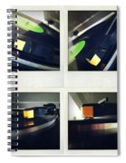 Record Player Spiral Notebook