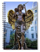 Recording Angel Spiral Notebook