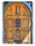 Rectory Door Spiral Notebook