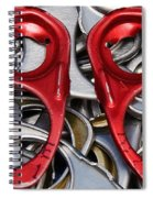 Recycled Love Spiral Notebook