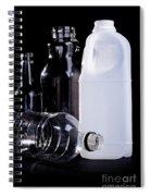 Recycling Bottles Spiral Notebook