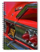 Red 1960 Chevy Spiral Notebook