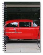 Red 55 Spiral Notebook