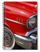 Red '57 Spiral Notebook