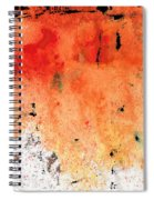 Red Abstract Art - Taking Chances - By Sharon Cummings Spiral Notebook
