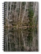 Red Alders Spiral Notebook