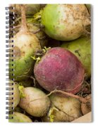 Red And Green Radishes Spiral Notebook