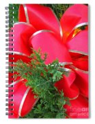 Red And Greens Spiral Notebook