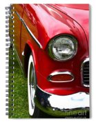 Red And White 50's Chevy Spiral Notebook