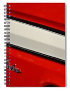 Red And White Ranchero Spiral Notebook