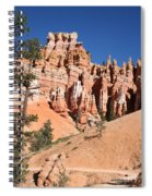 Red And White Rocks - Bryce Canyon Spiral Notebook