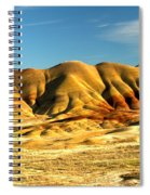 Red And Yellow Painted Hills Spiral Notebook
