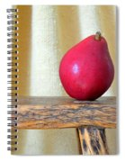Red Anjou Pear Spiral Notebook