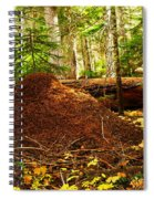 Red Ants Nest Spiral Notebook