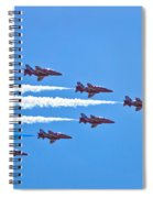 Red Arrows 1 Spiral Notebook