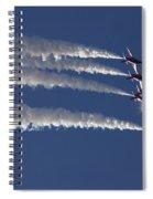 Red Arrows Spiral Notebook