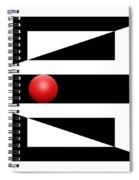 Red Ball 3 Spiral Notebook