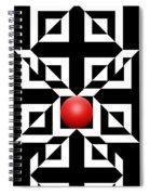 Red Ball 5 Spiral Notebook