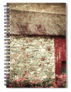 Red Barn Enhanced Spiral Notebook