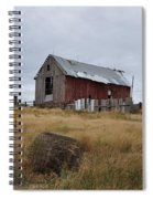 Red Barn On The Hill Spiral Notebook
