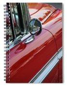 Red Belair Spiral Notebook