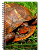 Red Box Spiral Notebook
