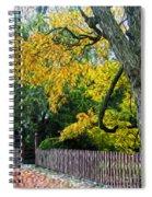 Red Brick Sidewalk Spiral Notebook