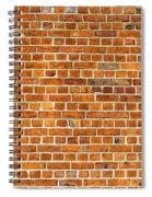 Red Brick Wall Texture Spiral Notebook