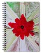 Red Brilliance Spiral Notebook