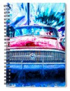 Red Buick  Spiral Notebook