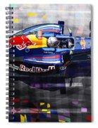 Red Bull Rb6 Vettel 2010 Spiral Notebook