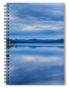 Red Buoys On Loch Rannoch Spiral Notebook