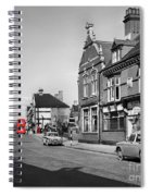 Red Bus And Red Telephone Box - 1960's    Ref-124-2 Spiral Notebook