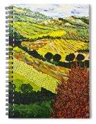Red Bush Spiral Notebook