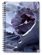 Red Cabbage Abstract Spiral Notebook