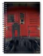 Red Caboose Spiral Notebook