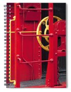 Red Caboose Spiral Notebook
