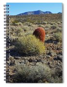 Red Cactus Spiral Notebook