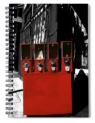 Red Candy Spiral Notebook