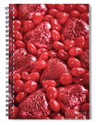Red Candy Spiral Notebook