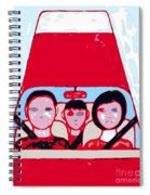 Red Car Spiral Notebook