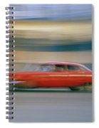 The Red Car Spiral Notebook