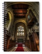Red Carpet Spiral Notebook